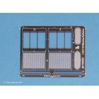 RB-P32021 Radiator pentru MUSTANG, inclocuire piese kit Tamyia