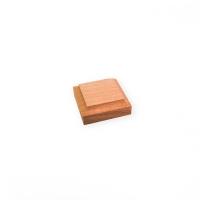 8040 Baza lemn 40x40mm pt modele/figurine modelism.