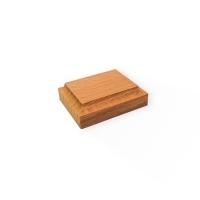 8041 Baza lemn 50x40mm pt modele/figurine modelism.