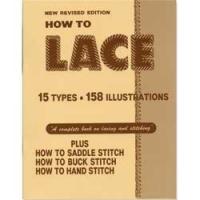 """6004-00 Carte pielarie """"How To Lace Book"""""""