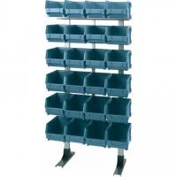 302 Kit raft 54 cutii depozitare, 600x300x1250mm
