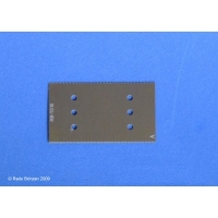 RB-T015 Lama taiere, medie (16 d/cm - 40 tpi) pentru modelism