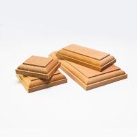 8048/07 Baza lemn masiv 60x70mm pt modele/figurine modelism