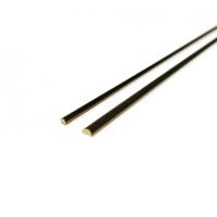 2754/21 Profil semirotund alama pt modelism 2 x 1  x 500mm