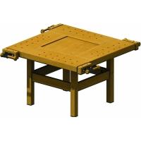 Tejghea de tamplarie lemn, 2000 x 600 x 850 mm, Pinie