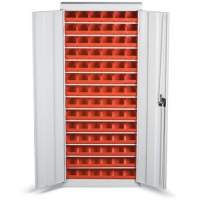 BD 02 Stand cutii organizare / depozitare piese 700x1800x260 mm