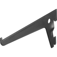Suport simplu raft pe sina Dolle Single Slot 150mm, pentru rafturi modulare