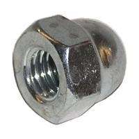 Piulite hexagonale infundate M3-M6 DIN1587 otel zincat, 10 bucati