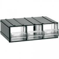 404 Cutii cu sertare transparente 192x148x63mm