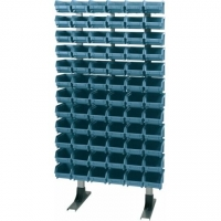 120 Dulap cutii transparente depozitare, 1300x400x1900mm