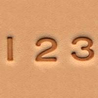 4903-01 Set stante embosare piele ALFABET litere mari de 6mm.