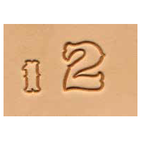 8132-02 Set stante embosare piele ALFABET litere mici de 19mm.