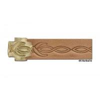 8092-04 Rola scula cu rola embosat pielarie Crafttool Pro
